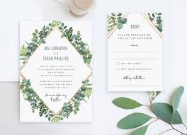 Wedding Invitation Template Online Wedding Invitations And Rsvp Cards Package Cheap Invitation