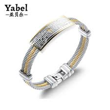 jewelry manufacturer china whole wire wrapped jewelry mens snless steel bracelet