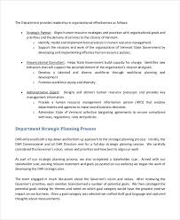 of strategic plans sample hr department strategic plan