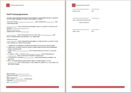 36 Official Agreement Templates For Everyone | Templateinn