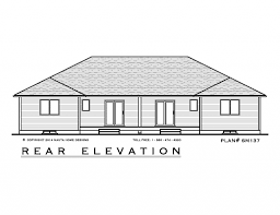 2 Bedroom Semi Detached House Plan Sm137 1162 Sq Feet