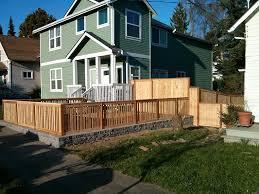 front yard fence design. Wood Fence Designs For Front Yards Yard Design