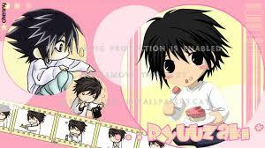 Cute Death Note L Wallpaper - Hachiman ...