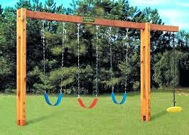 outdoor swing diy how to build a backyard frame bench best swings ideas only on fire diy backyard swing
