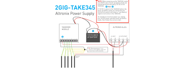 2 gig super security tech you must install a power supply to power the devices and charge the battery the terminals are small and share only one common so wiring them can be messy