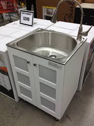 Home Depot Laundry Cabinet Love This Stainless Steel Laundry Sink Cabinet 249 Home Depot