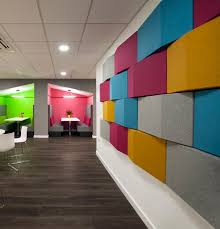 collaborative office space. acoustic panels u003e collaborative space this for collaboration in the office has brightly coloured