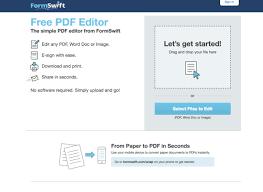 Formswift Organizational Chart 10 Best Free Pdf Editors For 2019
