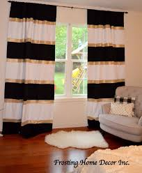 full size of living room black and white striped curtains nursery curtains gold bedroom black
