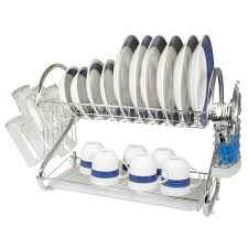 Kitchen Drying Rack For Sink Kitchen Magnificent Home Basic 5 Piece With 2 Tier Kitchen Sink