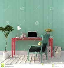colorful home office. Colorful Interior Of Home Office U