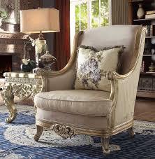 Furniture Classic Design Hd 04 Homey Design Upholstery Accent Chair Set Victorian European Classic Design