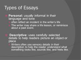 types of tones in essays