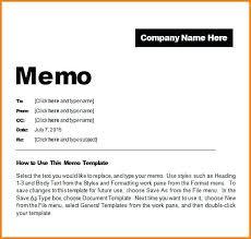 Business Memo Format Letter Template Image Memorandum Word Of