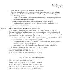 Sample Resume for a Business Law Project Manager or Chief Legal/Administrative  Officer