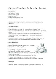 Objective Resume Samples Fascinating Dry Cleaner Resume Commercial Cleaning Examples R Example Sample