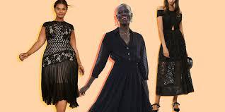 Teen sex short black dress