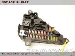 parting out 2008 bmw 650i stock 6228yl tls auto recycling 2008 bmw 650i fuse box rear fuse box 61149138830