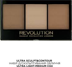 makeup revolution ultra sculpt contour kit light um makeup