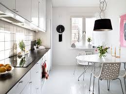 apartment kitchen decorating ideas on a budget. Beautiful Minimalist Modern Kitchen Swedish Family House Interior Ideas Apartment Decorating On A Budget