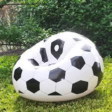 Inflatable Room Fashion Inflatable Sofa Air Soccar Football Self Bean Bag Chair