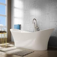 freestanding bathtub 2d a e bath and shower evita 69 inch resin oval color bathroom