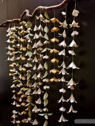 Hanging Paper Flower Backdrop Diy How To Make A Paper Flower Backdrop Catch My Party