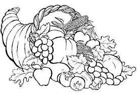 Small Picture Best Solutions of Cornucopia Coloring Page For Cover