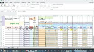 Production Scheduling In Excel Excel Weekly Schedule Template Blank Daily Work Word Format