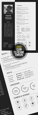 25 Unique Resume Template Free Ideas On Pinterest Resume
