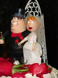110 best wedding cake toppers images on pinterest marriage Wedding Cake Toppers Ginger Groom hilarious wedding toppers family guy wedding cake toppers Funny Wedding Cake Toppers