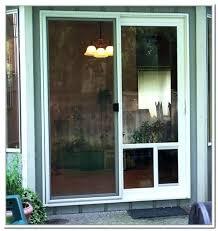 sliding glass door with dog door sliding glass door pet door sliding glass door dog door