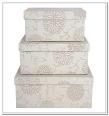 Decorative Cardboard Storage Box With Lid Wonderful Decorative Storage Boxes With Lids Nested Steamer Box 74