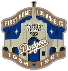 Los Angeles Dodgers Stadium Logo - National League (NL) - Chris ...