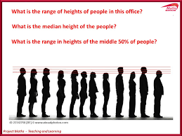 Height Chart With People Project Maths Teaching And Learning Relative Frequency