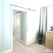 interior how to hang a barn door houzz for bathroom barn door decorating from bathroom