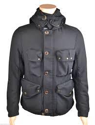cp company men s fleece lined goggle jacket