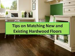 how can you match new and with existing hardwood this guide explains how to match the thickness type species and color