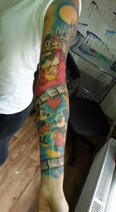 Tetování Sleeve Tetování Tattoo