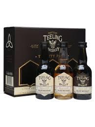 teeling whiskey trinity miniature pack 3 x 5cl