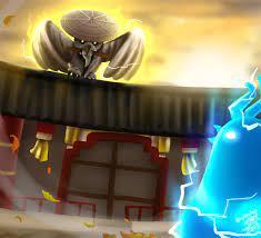 ART] If Wu was an owl, fighting the S11 chicken!: Ninjago