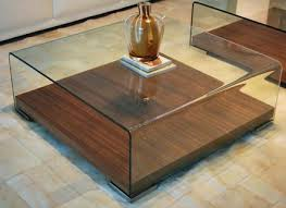 Coffee Table Small Square Glass Top Coffee Table Square Glass