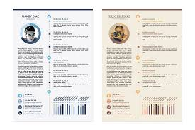 The Best Cv Resume Templates 50 Examples Design Shack 2 Page Stand ...