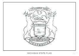 United States Flag Coloring Pages Printable State Flag Coloring Page