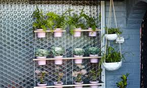 measure and mark for hanging garden