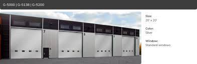 G-5000, G-5138, G-5200 | Commercial Garage Door Manufacturer | Garaga