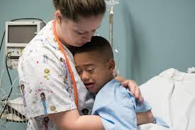 in pictures a little boy and nemo undergo life changing surgery before going under volunteer surgical tech doreen somers gave jamil his favorite toy in the operating room to calm his nerves