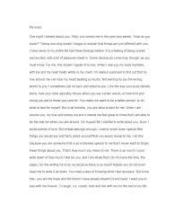 free love letter template 41