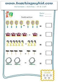 Math Worksheet Subtraction Worksheets 1st Grade Excel Third Addition ...