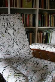 white moth allover fabric from timorous beasties in original